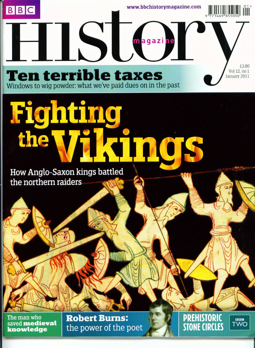 BBC History Magazine January cover